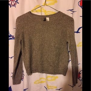 H&M divided sweater Sz S